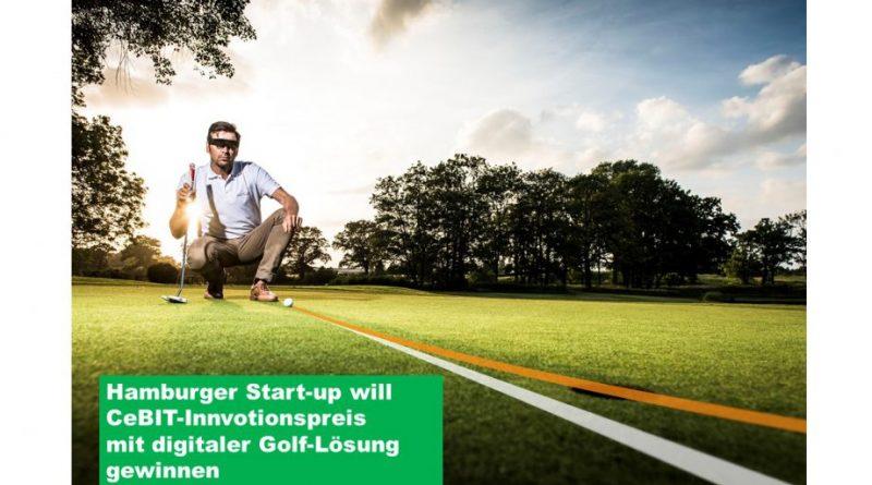 PuttView kann Golfern zur Ideallinie beim Putten verhelfen