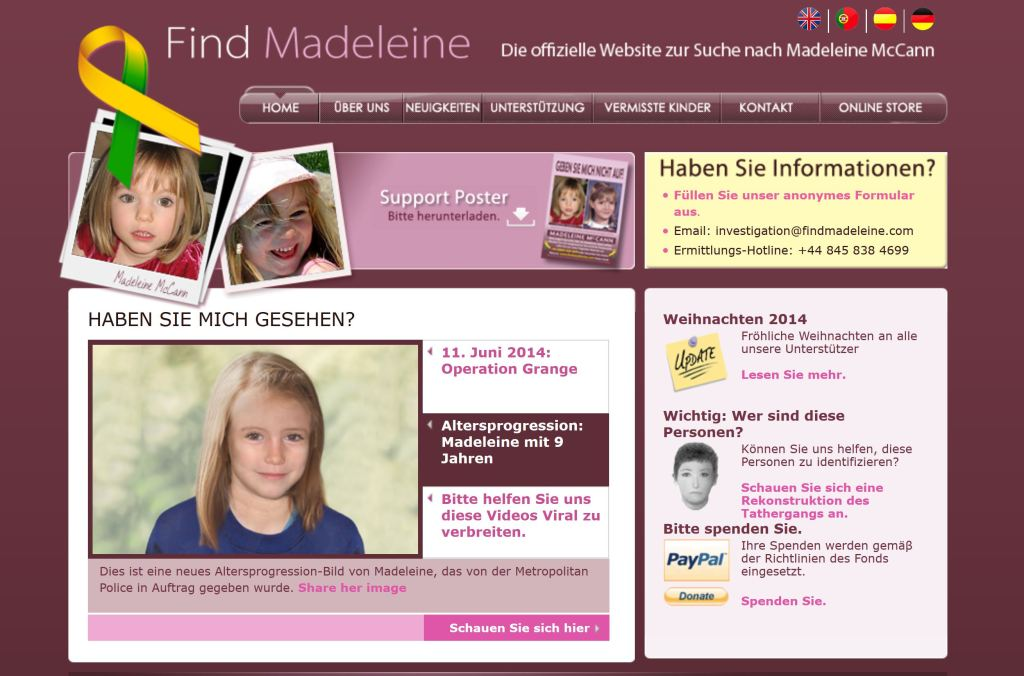Find Madeleine Screenshot