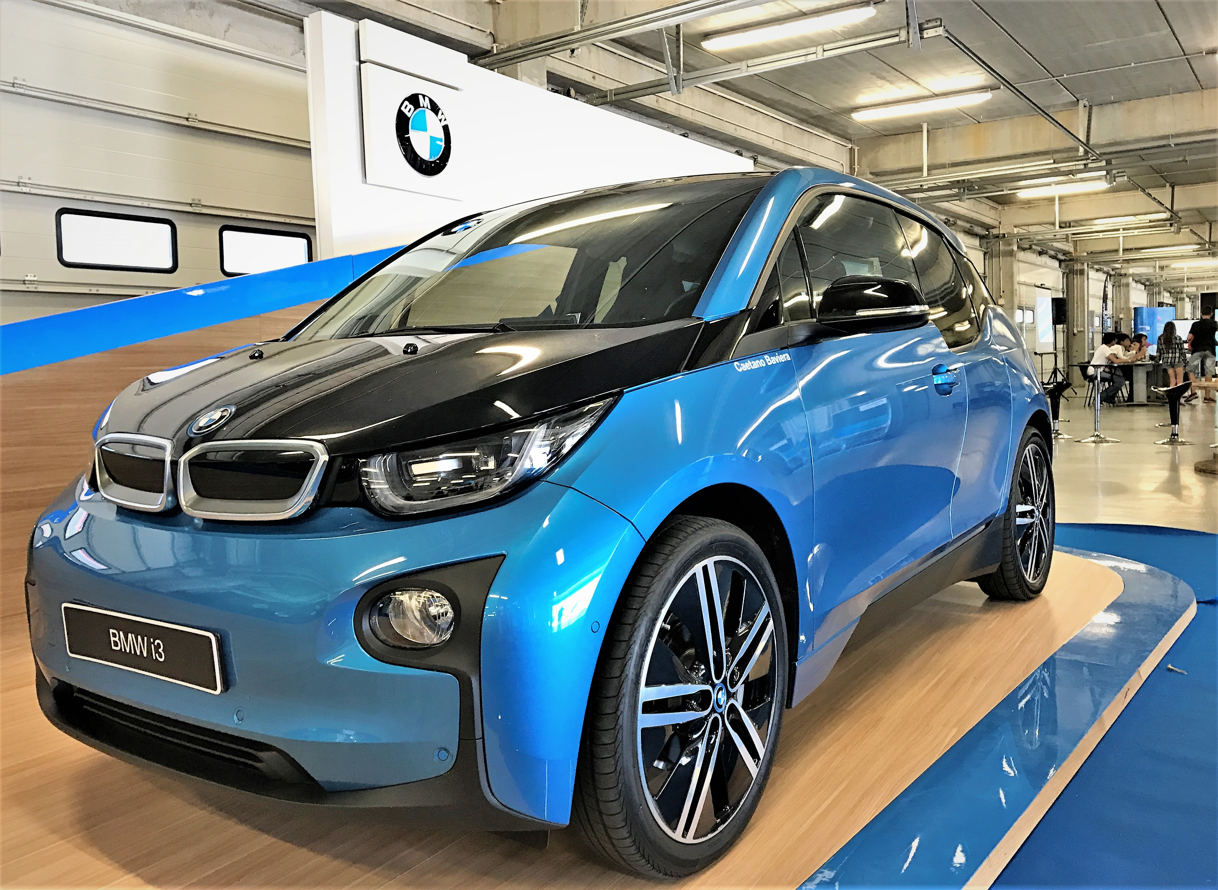 BMWi3 auf Smart Region Summit in Portimao, Algarve