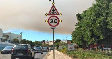 Portugal Algarve Waldbrände 2017 und 2016