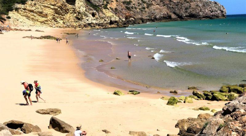 ausgezeichnete Bade-Strände der Algarve, hier Zavial