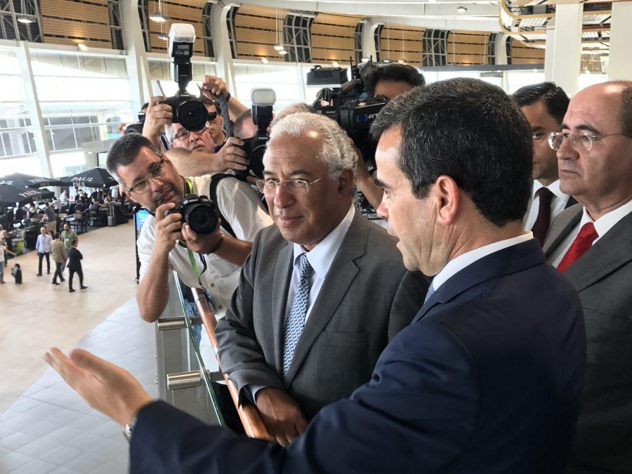 Flughafen Faro Terminal Einweihung Ministerpräsident Costa Juli 2017