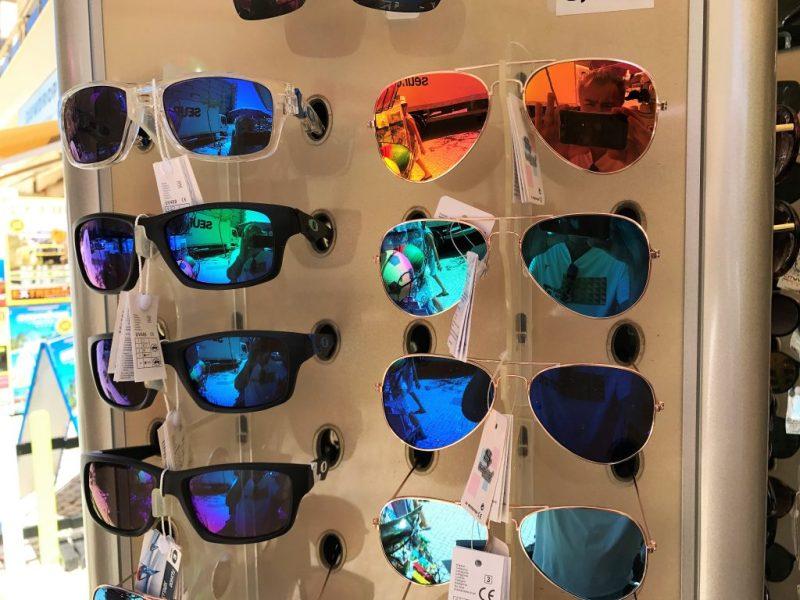 Algarve-Auswahl an Sonnenbrillen