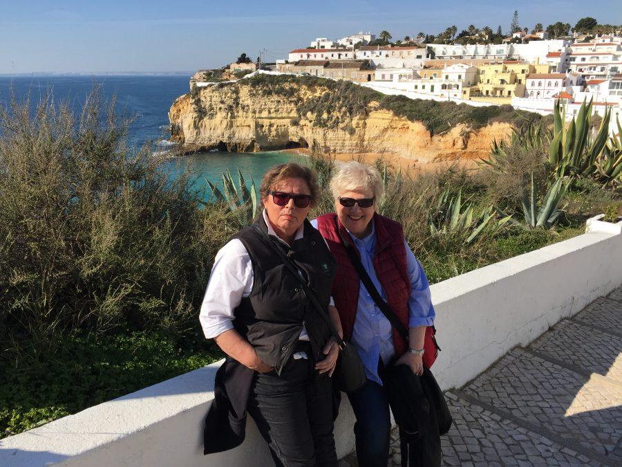 Deutsche in Carvoeiro an der Algarve