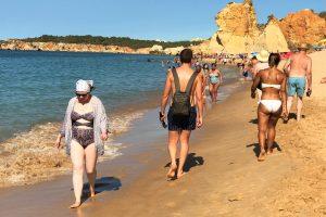 Algarve-News Tourismusboom 2017 an den Stränden