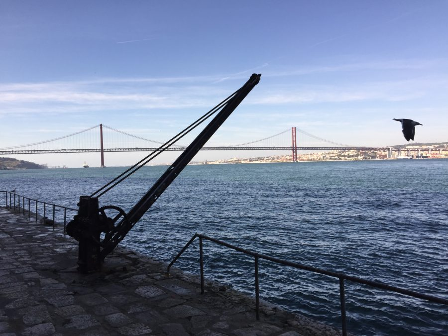 Algarve-News Tejo-Brücke in Lissabon mit neuer Aussichtsplattform
