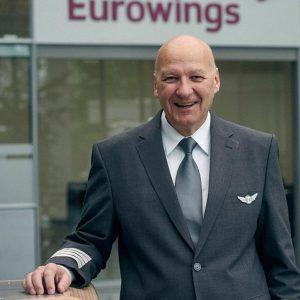 Faro hat als Fan den Eurowings-Flottenchef Erwin Weixler