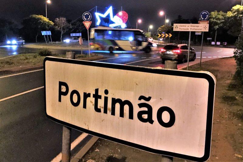 Algarve-News Weihnachtsbeleuchtung 2017 in Portimao