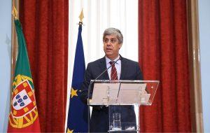 Eurogruppe hat neuen Vorsitzenden Mario Centeno, Portugals Finanzminister von der Algarve