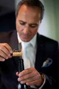 Korken als Flaschenverschlüsse sind Botschafter Portugals