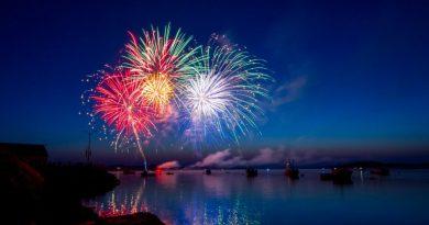 Weihnachten und Silvester 2017 an der Algarve mit Feuerwerk