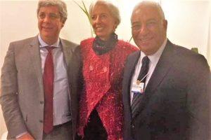 Algarve-News zu Treffen Lagarde, Costa und Centeno in Davos