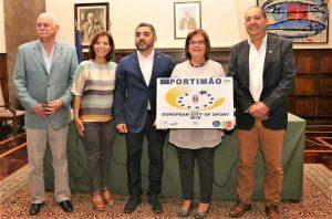 Eurpas Sportstadt 2019 ist Portimao mit seiner Bürgermeisterin Isilda Gomes