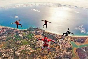 Algarve News über Fallschirmspringen in Portimao