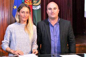 Bodyboard Weltmeisterin Joana Schenker von Vila do Bispo gefördert