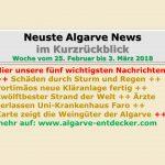 Algarve News: 25. Februar bis 3. März 2018