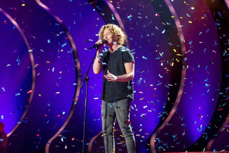 Eurovision Song Contest 2018 in Lissabon mit Michael Schulte aus Deutschland