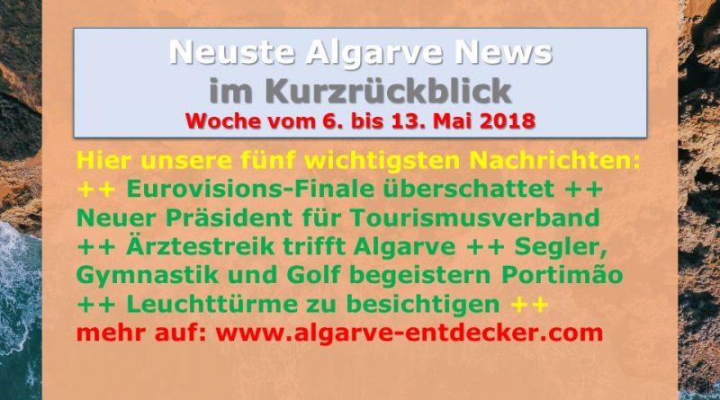 Algarve News für KW 19 vom 6. bis 13. Mai 2018