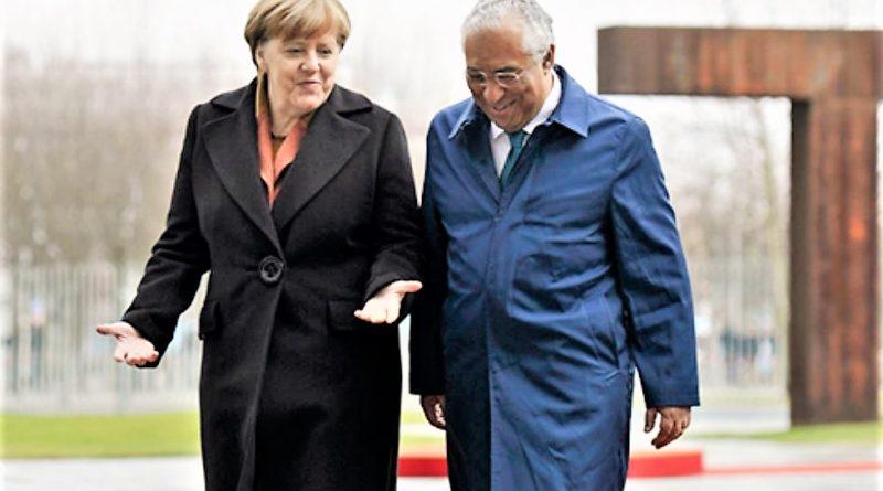Das Wunder der wirtschaftlichen Erholung Portugals besprechen Merkel und Costa