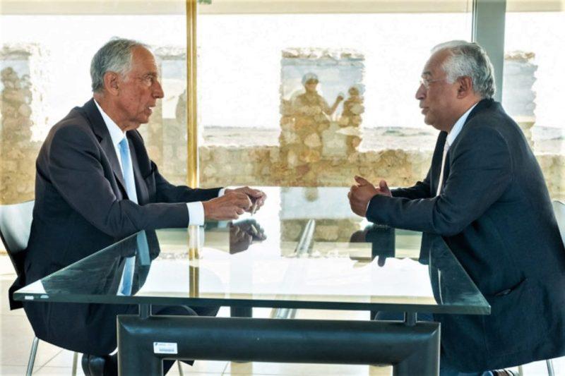Algarve News zu Treffen von Portugals Präsident mit Regierungschef in Sagres