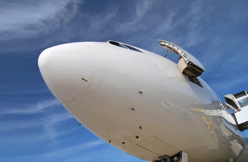 Algarve-Jumbo von HiFly ist auf ehemaliger Luftwaffenbasis Beja stationiert