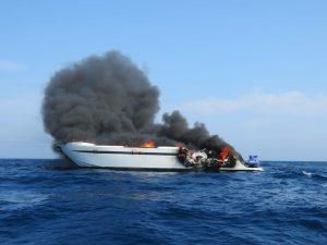 Algarve News zu Brand auf Motor-Yacht Ocean Rain in Sines