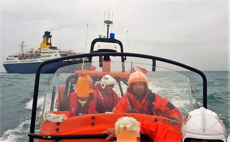 Algarve News zu Rettung eines Kreuzfahrt-Passagiers vor Portimao