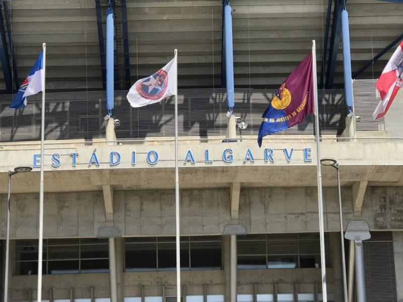 VfL Wolfsburg nicht im EM-Stadion der Algarve bei Faro und Loule