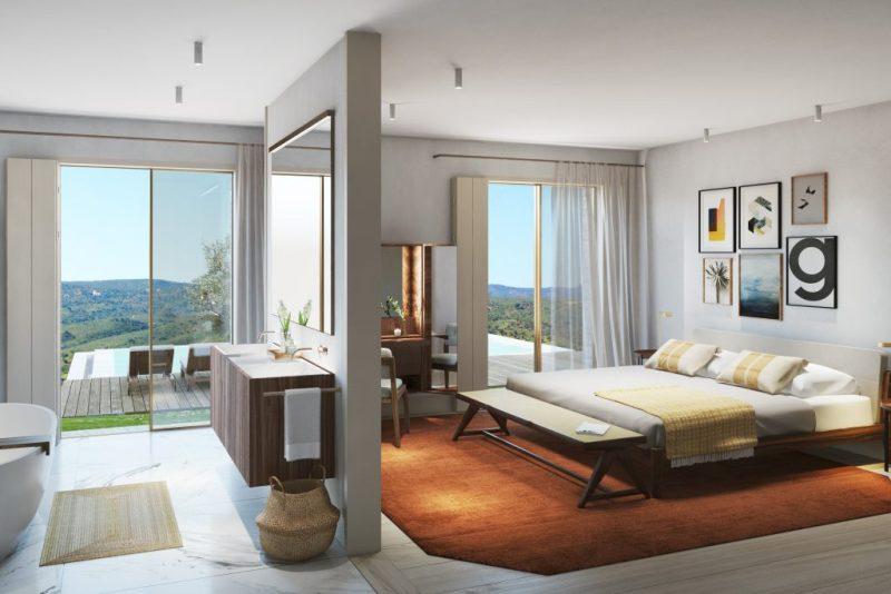 Hotels und Villas enstehen auch bei Loule im Ombria Resort an der Algarve