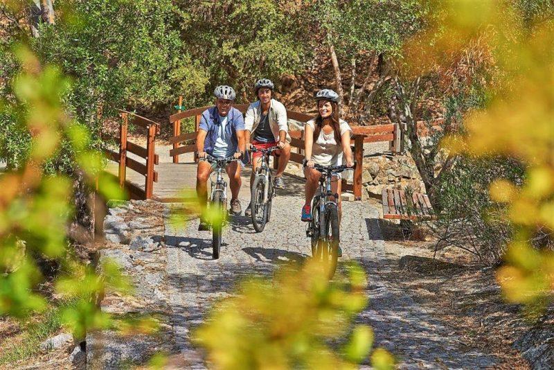 Kultur und Natur prägen auch das Angebot an der West-Algarve. Radfahr-Routen verbinden die Punkte