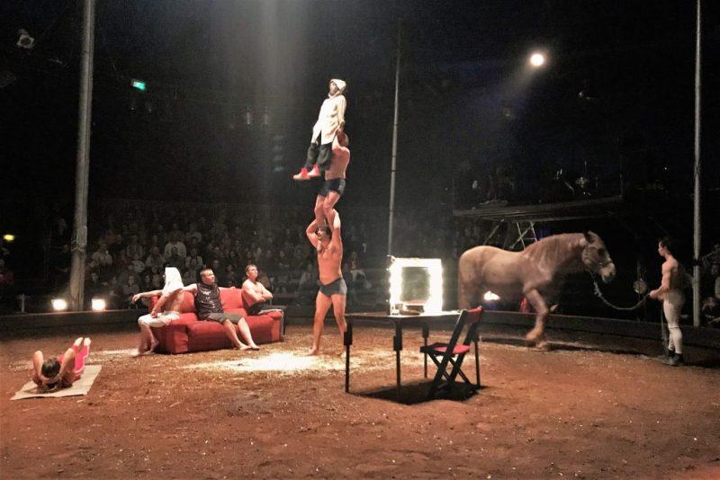 Zirkusfestival geplant nach Auftritt von Cirque Aital in Monchique an der Algarve