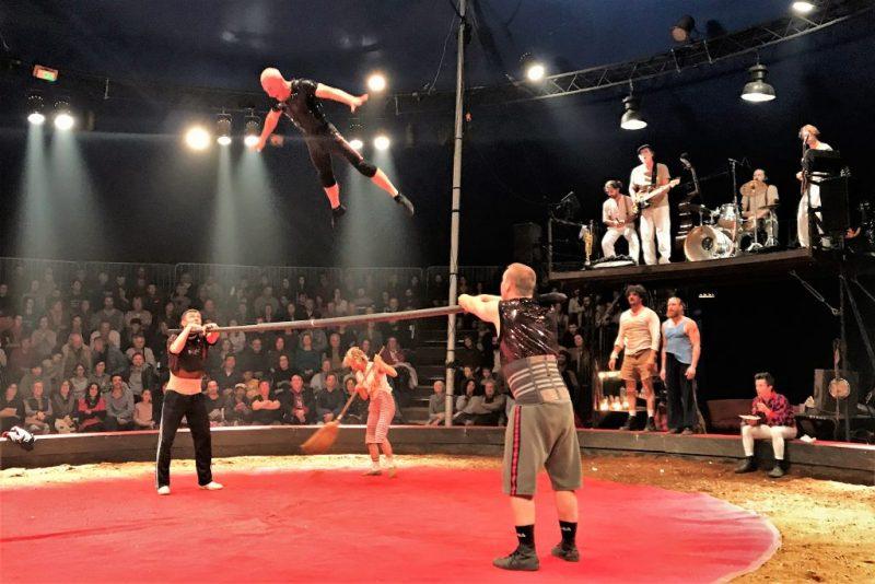 Zirkusfestival zu jedem Jahresende in Monchique an der Algarve geplant wie 2018 mit Cirque Aital