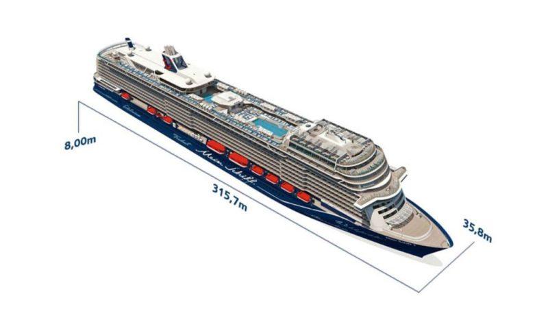 """Algarve News zur Taufe der neuen """"Mein Schiff 2"""" in Lissabon"""