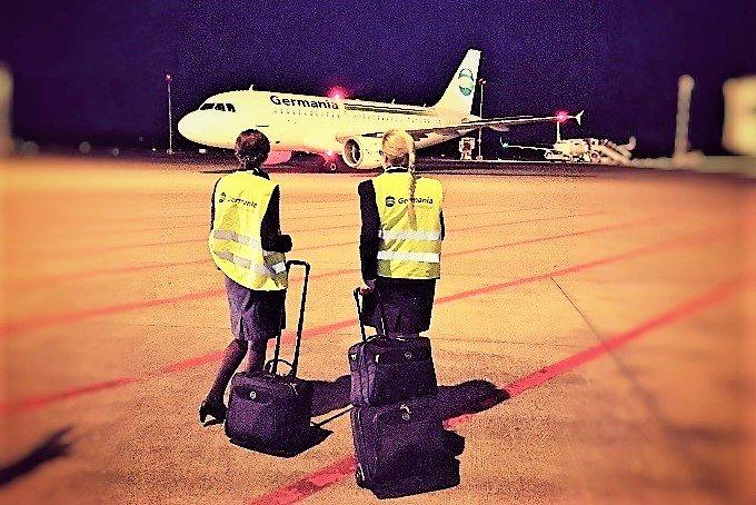 Germania-Insolvenz betrifft viele kleinere Flughäfen in Deutschland und dem Ausland
