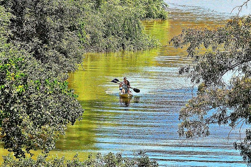 Wassersport auf dem Grenzfluss Guadiana zu Spanien wird an Algarve immer attraktiver
