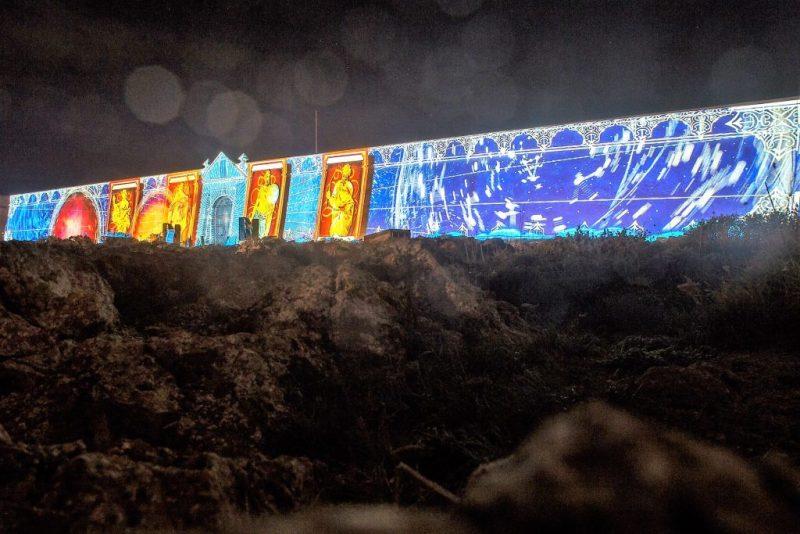 Algarve-Monumente wie die Festung Sagres werden per Videomapping zu visualisierten Museen