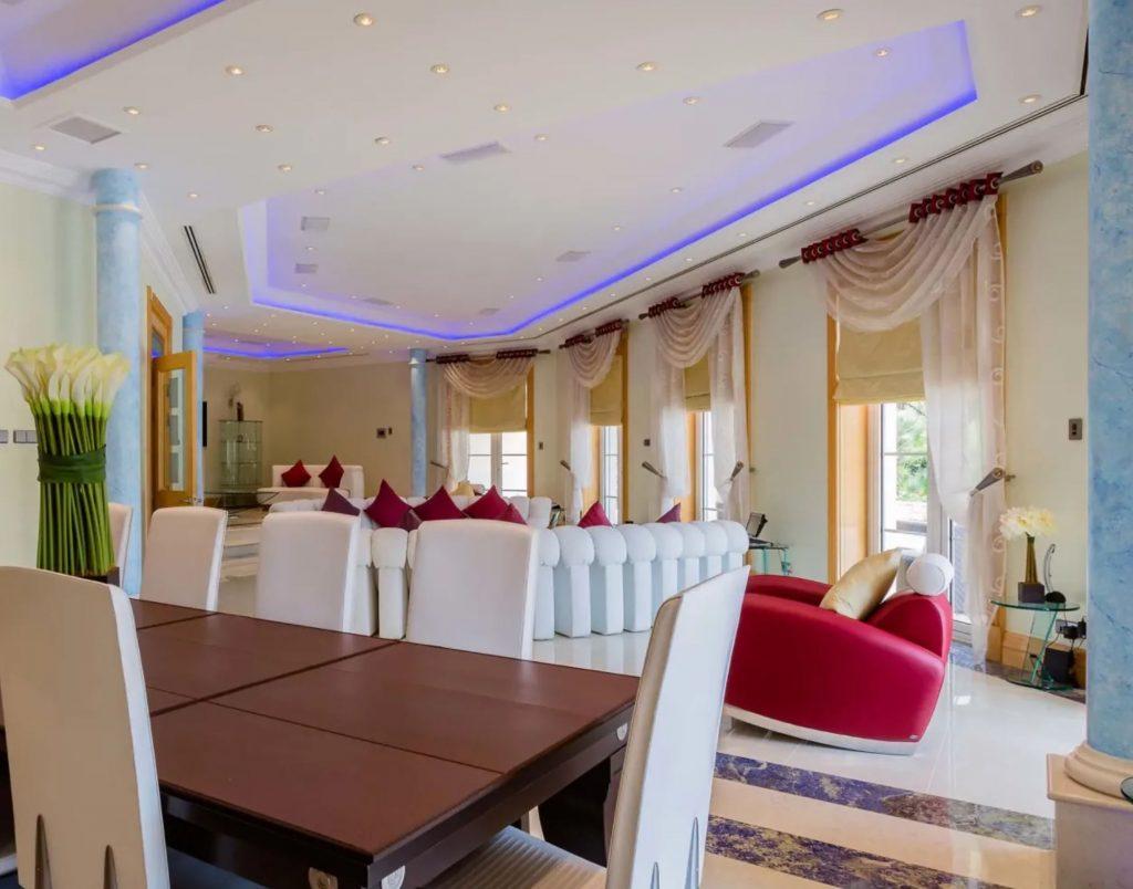 Luxus-Villa an der Algarve in Quinta do Lago hat neun Schlafzimmer und Badezimmer i