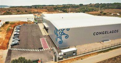 Fischfabrik bei Lagos an der Algarve weltweit modernste für Tiefkühlfisch