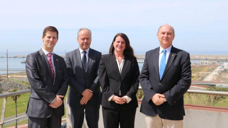 Sines im Interesse der Handelspolitik der USA im Blick auf Flüssiggas-Exporte nach Europa