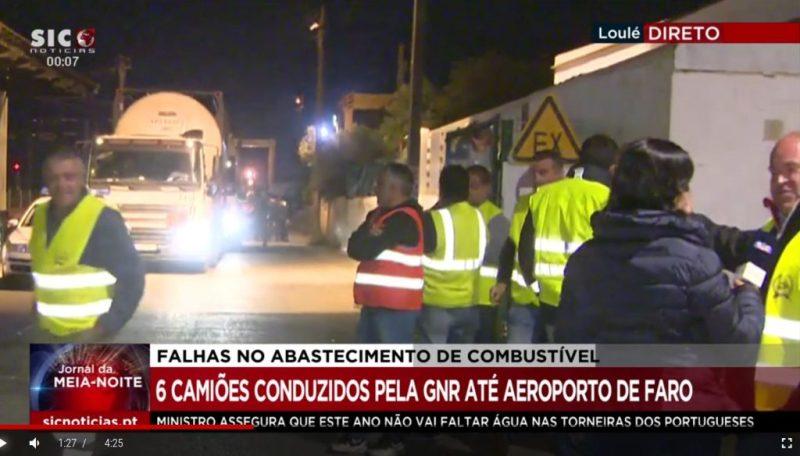Kraftstoff-Mangel durch Rekrutierung fremder Tankwagen-Fahrer in Portugal gelindert