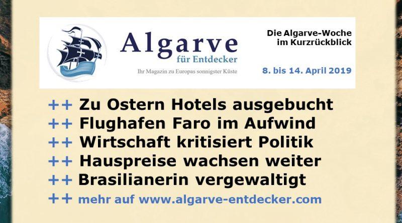 Flughafen Algarve Karte.Algarve News 8 Bis 14 April 2019 Algarve Für Entdecker