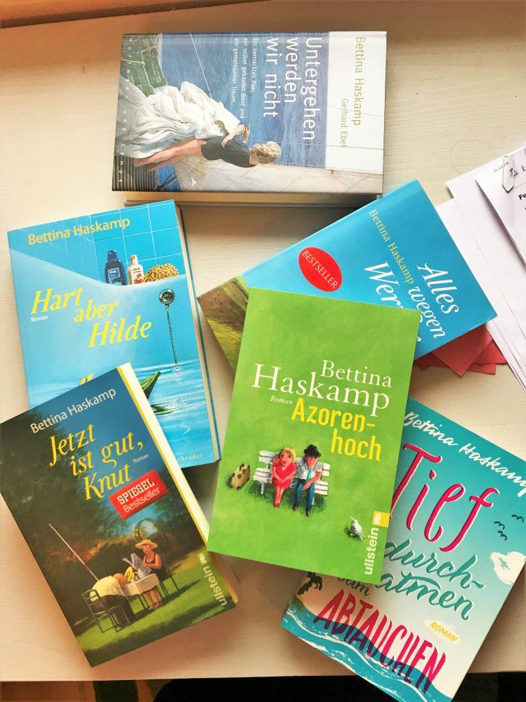 Bettina Haskamp vollzog einen Genre-Wechsel vom Frauenroman hin zum Algarve-Krimi