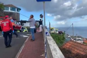 Madeira bot viele Retter auf, um den Opfern des tragischen Busunfalls zu helfen