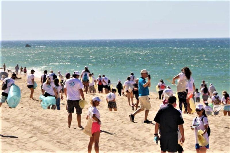 Algarve News zu Strandreinigungsaktion im Kreis Albufeira
