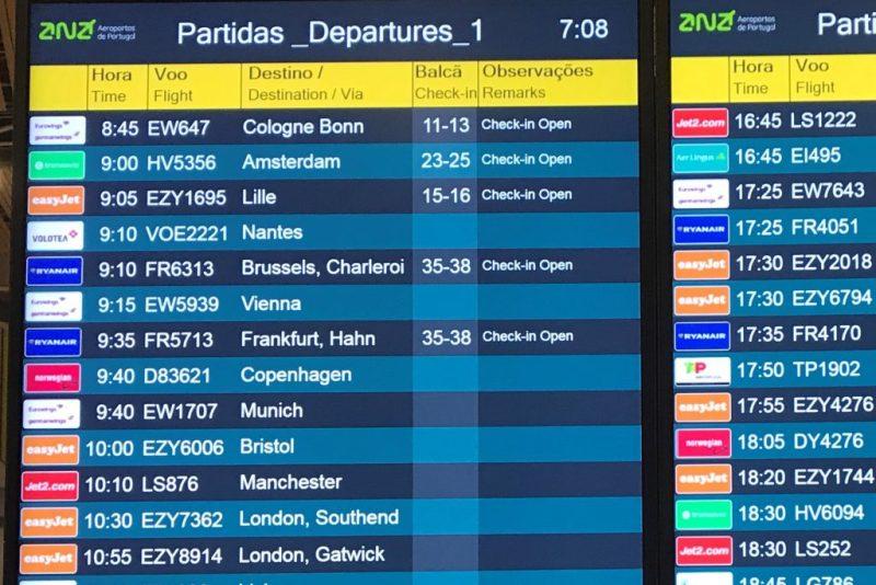 Algarve News zu Streichung von Hahn-Verbindungen nach Faro durch Ryanair