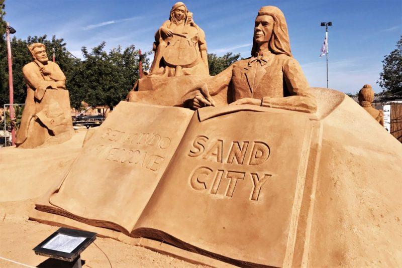 Algarve News zu Umzug von Sandskulpturen-Park FIESA als Sand City zur N 125