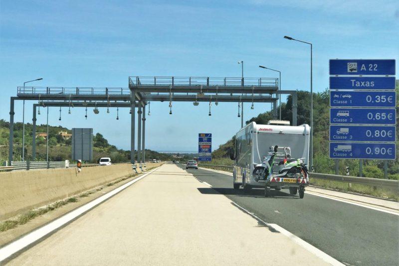 Mietwagen-Kunden müssen an Algarve mit Mautsystem der