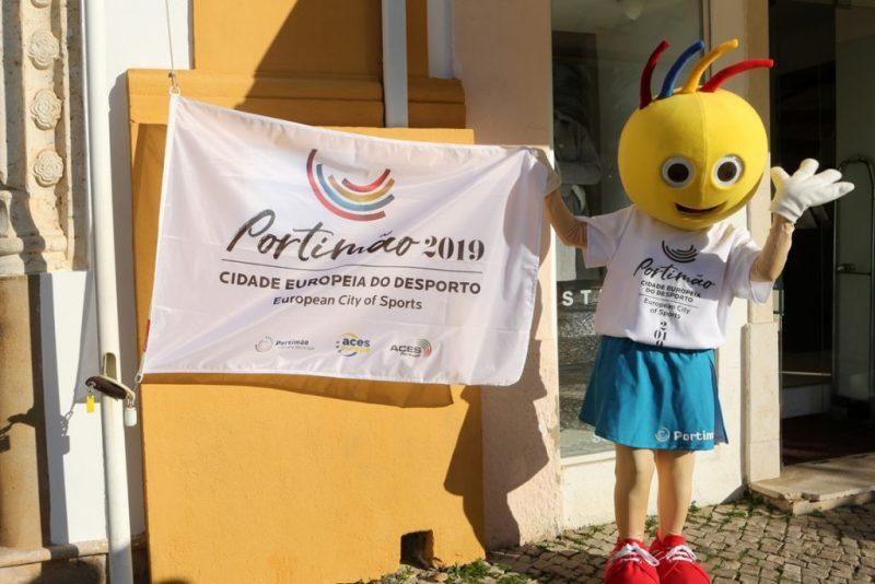 Weltkindertag wird in Europas Sportstadt 2019 an der Algarve mit Maskottchen Férinhas gefeiert