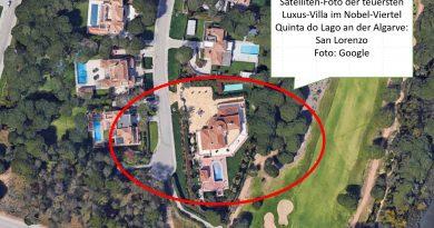 Versteigerung von teuerster Luxus-Villa im Internet ohne Mindestgebot