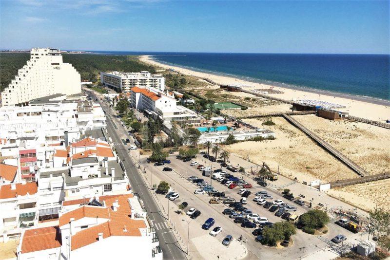 Algarve News zu Arbeiten an Uferpromenade in Monte Gordo